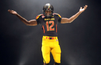 Maryland's black and yellow uniforms