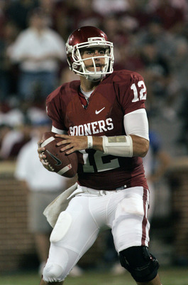 Landry Jones looks to solitify the Sooners at the top this week.