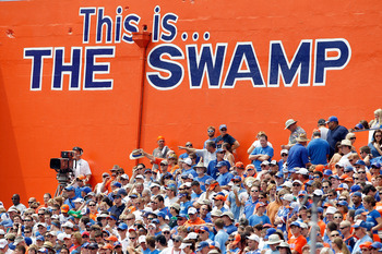 The Swamp could be the difference on Saturday for the Gators.
