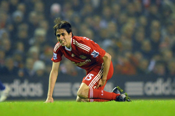 Injury Brings a Grimace to Yossi Benayoun