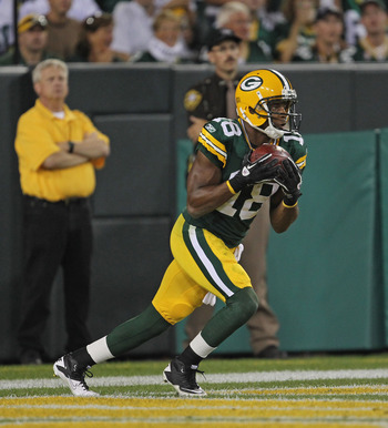 Randall Cobb was spectacular.