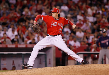 Scott Downs in 2011 kept the Angels close to the Rangers