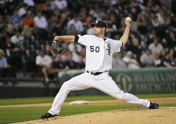 CHICAGO, IL - SEPTEMBER 12:  Starting pitcher John Danks #50 of the Chicago White Sox delivers during the first inning against the Detroit Tigers at U.S. Cellular Field on September 12, 2011 in Chicago, Illinois.  (Photo by Brian Kersey/Getty Images)