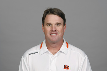 CINCINNATI, OH - CIRCA 2011: In this handout image provided by the NFL,  Jay Gruden of the Cincinnati Bengals poses for his NFL headshot circa 2011 in Cincinnati, Ohio.  (Photo by NFL via Getty Images)