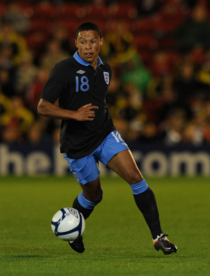 BARNSLEY, ENGLAND - SEPTEMBER 05:  Alex Oxlade Chamberlain of England in action during the Under-21 International Friendly between England and Israel at Oakwell Stadium on September 5, 2011 in Barnsley, England.  (Photo by Gareth Copley/Getty Images)
