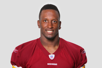 ASHBURN, VA - CIRCA 2011: In this handout image provided by the NFL, Fred Davis  of the Washington Redskins poses for his NFL headshot circa 2011 in Ashburn, Virginia. (Photo by NFL via Getty Images)