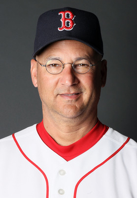 FT. MYERS, FL - FEBRUARY 20:  Manager Terry Francona #47 of the Boston Red Sox poses for a portrait during the Boston Red Sox Photo Day on February 20, 2011 at the Boston Red Sox Player Development Complex in Ft. Myers, Florida  (Photo by Elsa/Getty Image
