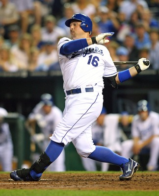 KANSAS CITY, MO - SEPTEMBER 03:  Designated hitter Billy Butler #16 of the Kansas City Royals bats against the Cleveland Indians at Kauffman Stadium on September 3, 2011 in Kansas City, Missouri. The Kansas City Royals defeated the Cleveland Indians 5-1.