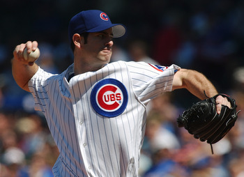 CHICAGO - JUNE 4:  Mark Prior #22 of the Chicago Cubs delivers the ball in his first game of the season against the Pittsburgh Pirates at Wrigley Field on June 4, 2004 in Chicago, Illinois. The Pirates defeated the Cubs 2-1. (Photo by Jonathan Daniel/Gett