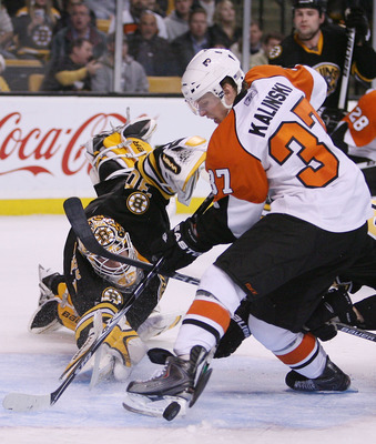 Kalinski has seen time with the Flyers before and could get another look this year.