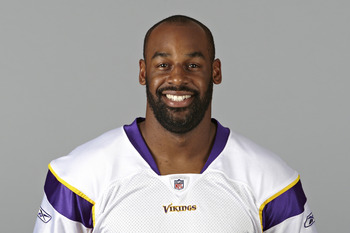 EDEN PRAIRIE, MN- CIRCA 2011: In this handout image provided by the NFL,  Donovan McNabb of the Minnesota Vikings poses for his NFL headshot circa 2011 in Eden Prairie, Minnesota. (Photo by NFL via Getty Images)