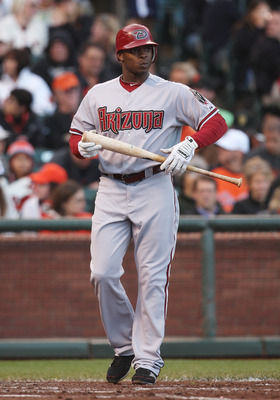 SAN FRANCISCO, CA - SEPTEMBER 03: Justin Upton #10 of the Arizona Diamondbacks walks to the dugout after striking out against the San Francisco Giants at AT&T Park on September 3, 2011 in San Francisco, California.  (Photo by Tony Medina/Getty Images)
