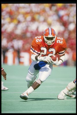 The NFL's all-time leading rusher is a former Gator.