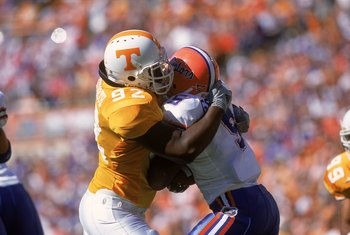 Alongside fellow defensive tackle John Henderson, Albert Haynesworth was unblockable at times as a Vol.