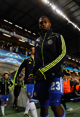 LONDON, ENGLAND - SEPTEMBER 13:  Daniel Sturridge of Chelsea emerges from the players tunnel before the start of the UEFA Champions League group E match between Chelsea FC and Bayer 04 Leverkusen at Stamford Bridge on September 13, 2011 in London, England