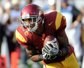 USC's Robert Woods has emerged as one of the nation's premier wide outs