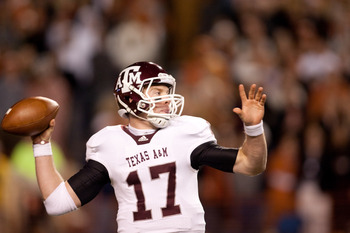 Texas A&M QB Ryan Tannehill is one of several Heisman caliber signal-callers in the Big 12