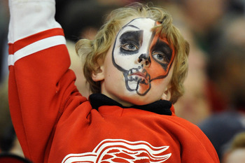 A random Detroit Red Wings fan
