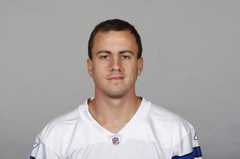 IRVING, TX - CIRCA 2011: In this handout image provided by the NFL, Dan Bailey of the Dallas Cowboys poses for his NFL headshot circa 2011 in Irving, Texas.  (Photo by NFL via Getty Images)