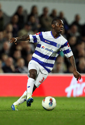 LONDON, ENGLAND - SEPTEMBER 12: Shaun Wright-Phillips of Queens Park Rangers in action during the Barclays Premier League match between Queens Park Rangers and Newcastle United at Loftus Road on September 12, 2011 in London, England.  (Photo by Clive Rose