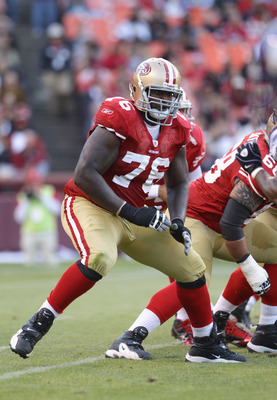 Right tackle Anthony Davis was a first rounder in 2010