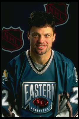 17 Jan 1997:  Rightwinger Dino Ciccarelli of the Tampa Bay Lightning poses before the NHL All-Star Game at the San Jose Arena in San Jose, California. Mandatory Credit: Jamie Squire  /Allsport