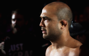 SYDNEY, AUSTRALIA - FEBRUARY 27:  BJ Penn of the USA walks into the arena before the start of his welterweight bout agains John Fitch of the USA as part of UFC 127 at Acer Arena on February 27, 2011 in Sydney, Australia.  (Photo by Mark Kolbe/Getty Images