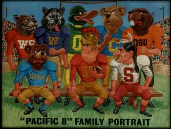 "A Pacific-8 Conference ""family portrait"", circa 1969."