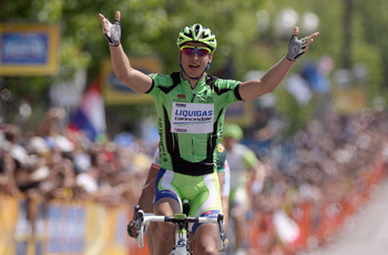 Expect to see Peter Sagan's arms raised in Copenhagen