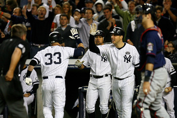 Nick Swisher and Mark Teixeira are prime examples of how impossible the Yankees' lineup is to deal with.