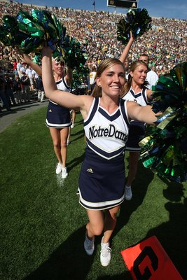 """Cheer, Cheer for Old Notre Dame"""
