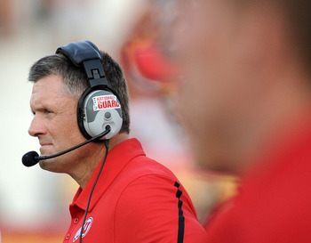 Utah coach Kyle Whittingham was very pleased with his teams performance against rival BYU