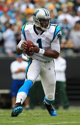 Cam Newton passes, Cam Newton runs, Add Cam Newton