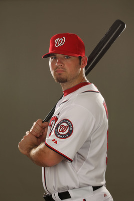 VIERA, FL - FEBRUARY 25:  Derek Norris #66 of the Washington Nationals poses for a portrait during Spring Training Photo Day at Space Coast Stadium on February 25, 2011 in Viera, Florida.  (Photo by Al Bello/Getty Images)