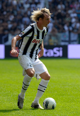 TURIN, ITALY - SEPTEMBER 11:  Milos Krasic of Juventus FC in action during the Serie A match between Juventus FC v Parma FC at Juventus Stadium on September 11, 2011 in Turin, Italy.  (Photo by Claudio Villa/Getty Images)