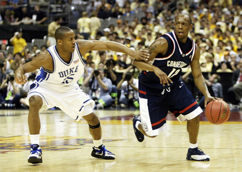 A 2004 Final Four Showdown between Duke & UConn