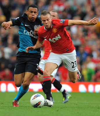 Coquelin looked impressive in his debut against Manchester United