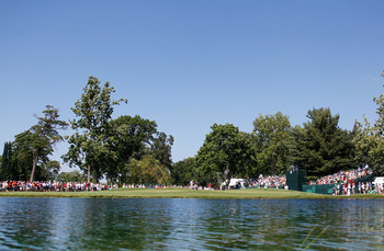 TOLEDO, OH - JULY 31: General view of the 12th hole during the final round of the United States Senior Open at the Inverness Club on July 31, 2011 in Toledo, Ohio.  (Photo by Gregory Shamus/Getty Images)