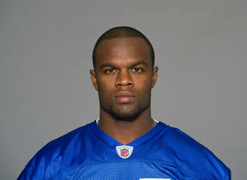 ROCHESTER, NY - CIRCA 2011: In this handout image provided by the NFL,  Roscoe Parrish of the Buffalo Bills poses for his NFL headshot circa 2011 in Rochester, New York.  (Photo by NFL via Getty Images)