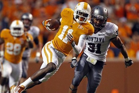 Tennessee Football: Justin Hunter and 10 Stories Heading Into the Bye Week