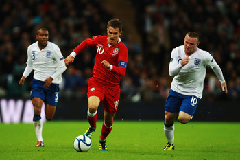 At the age of 20, Ramsey is already the captain for his national team