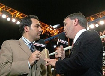 Joe Tessitore and Teddy Atlas