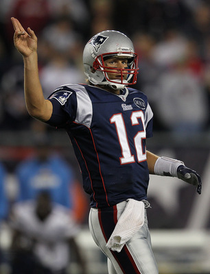 Peace out, Tom Brady.