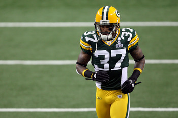 Sam Shields is filling in for Tramon Williams.