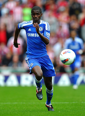 STOKE ON TRENT, ENGLAND - AUGUST 14: Ramires of Chelsea in action during the Barclays Premier League match between Stoke City and Chelsea at the Britannia Stadium on August 14, 2011 in Stoke on Trent, England.  (Photo by Laurence Griffiths/Getty Images)