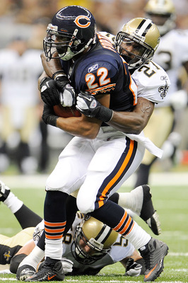 Matt Forte has just 117 yards rushing this season.