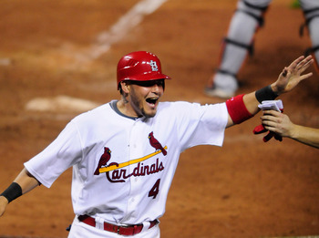 Yadier Molina has been a steady performer for four years.