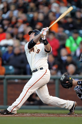 The Giants might be moving Posey to first base full-time.