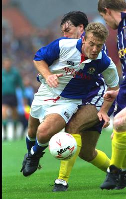 Alan Shearer was a major force with Blackburn