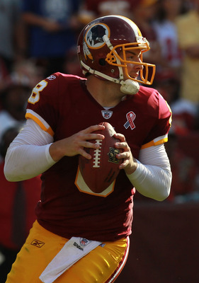 Can Rex Grossman lead the Redskins to 3-0?